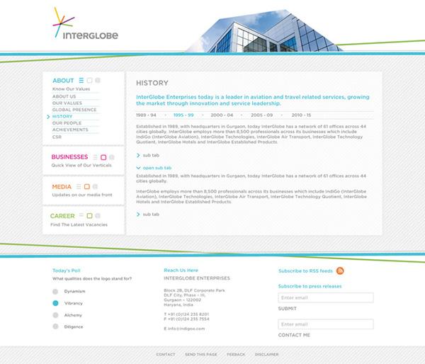 HTML iPad aviation interglobe