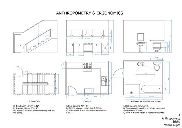 Anthropometry Ergonomics On Behance