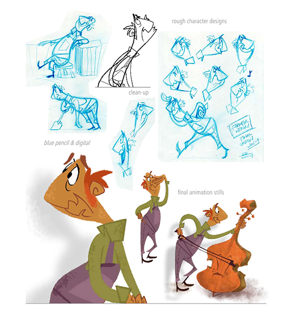 Sheridan College Character Design : My short animated film quot tah dah on behance