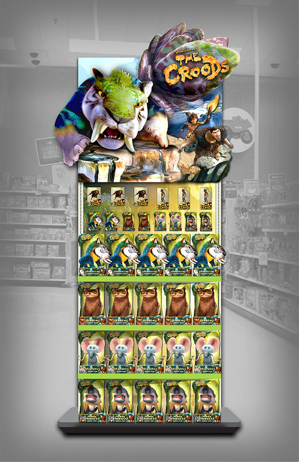 The Croods Toys R Us : Retail design on behance