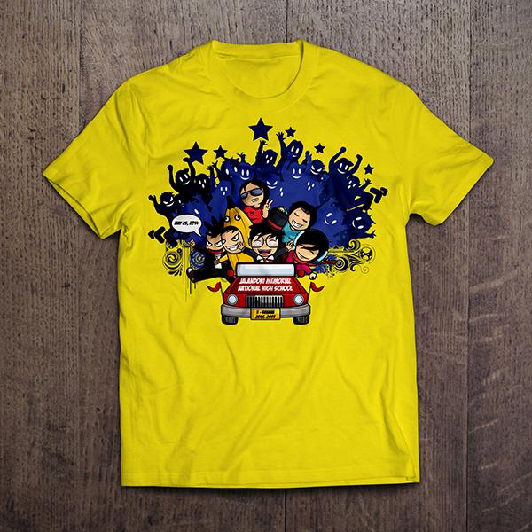 T Shirt Design For Reunion On Behance