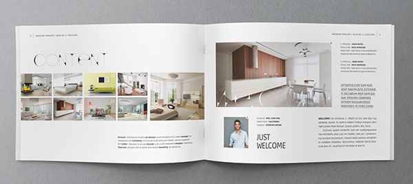 booklet brochure template 03 on behance