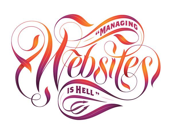 lettering  jordan  Metcalf  myths marketing   websites ad