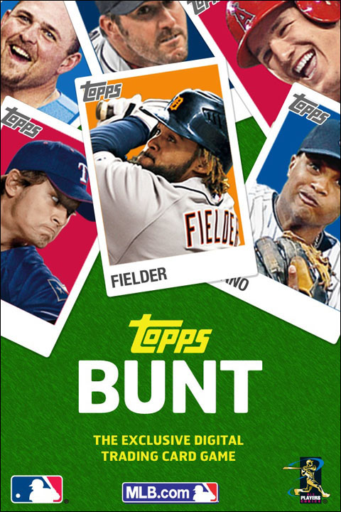 Topps Bunt Mlb Baseball Trading Card Game Ios App On Behance