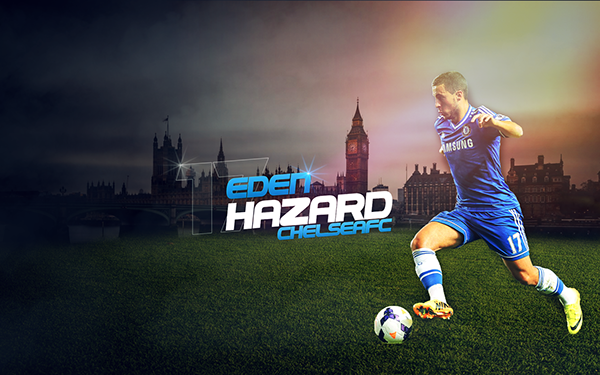 Eden hazard hd on behance voltagebd Image collections