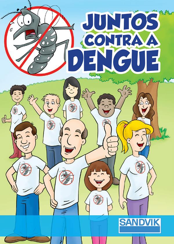 Quadrinho Juntos Contra Dengue On Behance