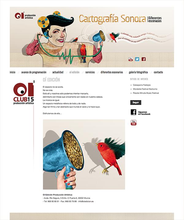 Ilustración e diseño para OÍ Edición
