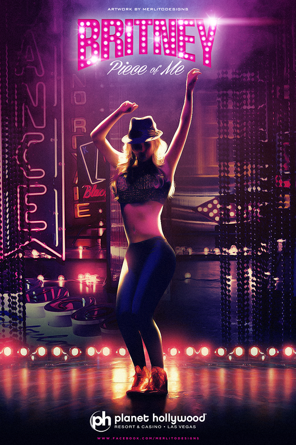 Britney Piece Of Me On Behance