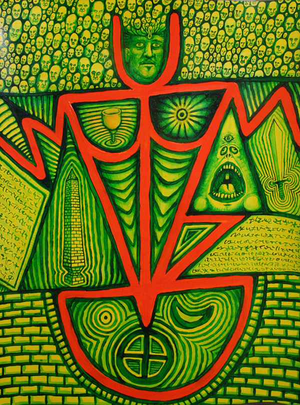 sigil Magic   magick chaos magick Austin Osman Spare toxic yellow symbols truth power altered states