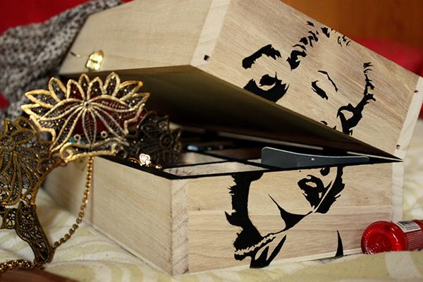 Marilyn Monroe jewelry box on Behance