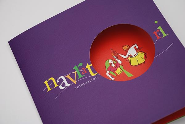 Invitation card navratri celebration on behance stopboris Images