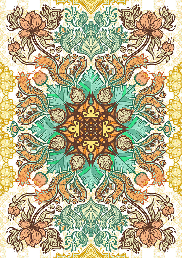 Indonesian Batik Patterns On Behance Beauteous Batik Pattern