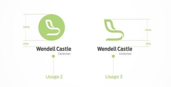 Wendell Castle logo Booklet Corporate Identity Website creative