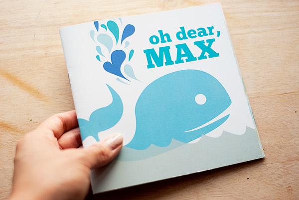 children's book bilingual Whale MAX