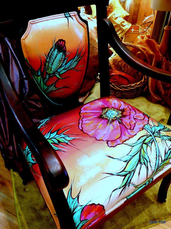 Custom Furniture Reinvented From Vintage Pieces On Behance