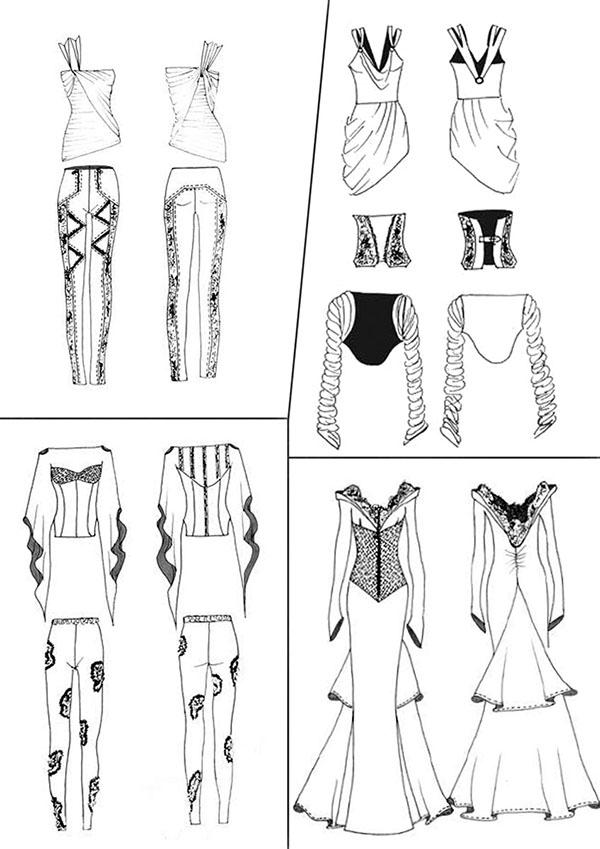 Fashion Show Drawings Photo-shoot Fashion Show