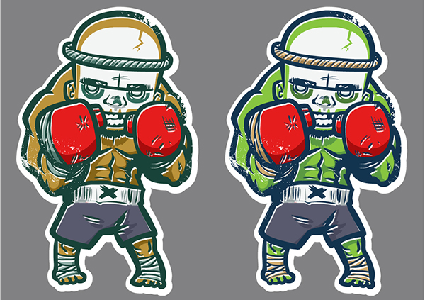 Character Design Jobs In Atlanta : Stikalicous on behance