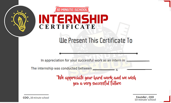 Internship certificate concept for 10 minute school 2 on student show all made using microsoft powerpoint yadclub Choice Image