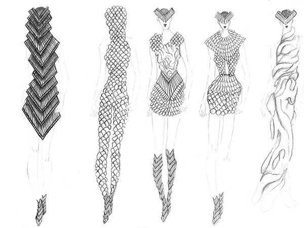 Image result for fashion designers drawings steps