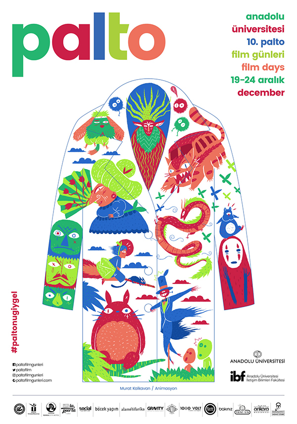 movie Film   festival ILLUSTRATION  artist art poster Drawing  istanbul Art Director