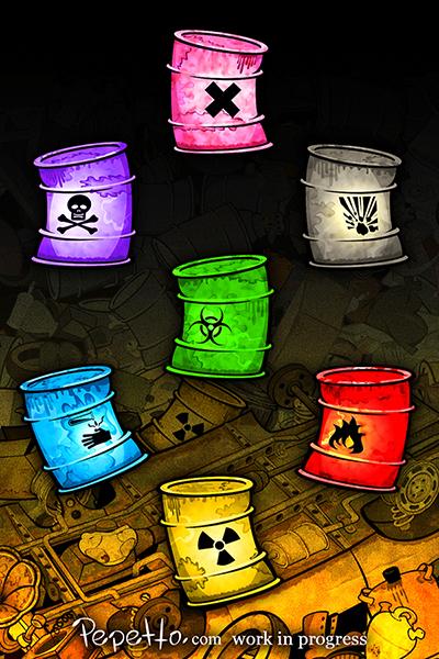 game app rubbish rust