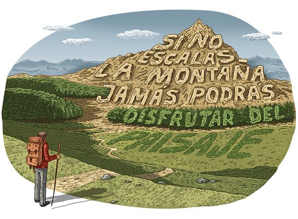 mountain lettering pablo neruda trip viaje Montana Escalar jorge tabanera gatotonto citas Landscape