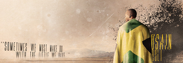 Usain Bolt Wallpaper On Behance