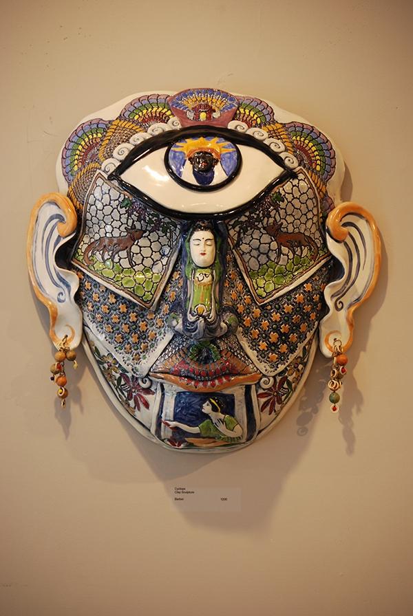 Ceramic Masks On Risd Portfolios