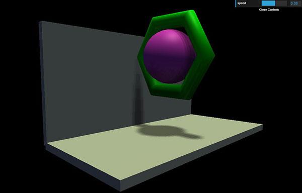 Three JS 3D Webapp on SCAD Portfolios