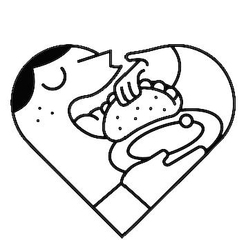Love Tacos ilovetacos taqueria Food  logo heart