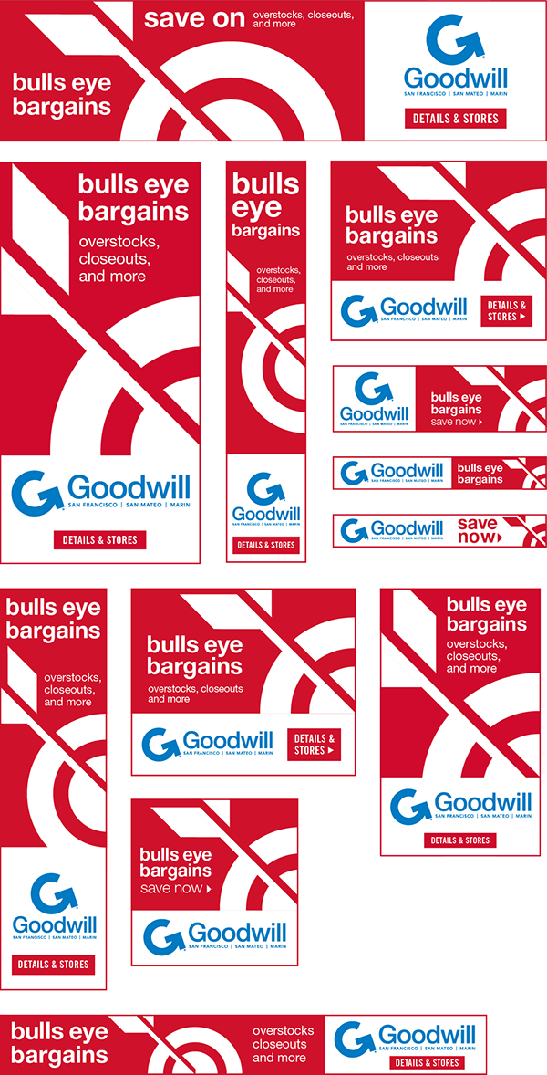 goodwill ad campaign poster banner ads mobile Web