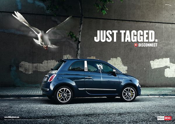 Campaign Fiat 500 By Diesel On Behance