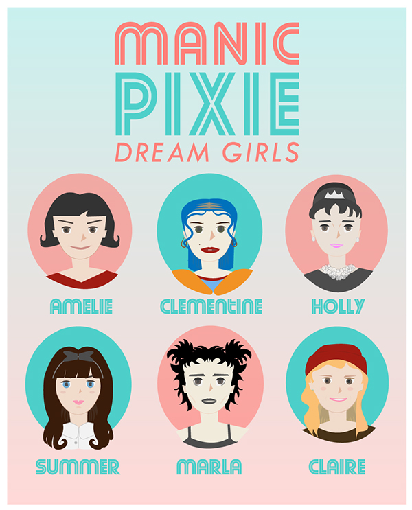 dating manic pixie dream girl From speed dating,  manic pixie dream girl: a graphic novel play by katie may  manic pixie dream girl is a darkly comic story about a struggling graphic.