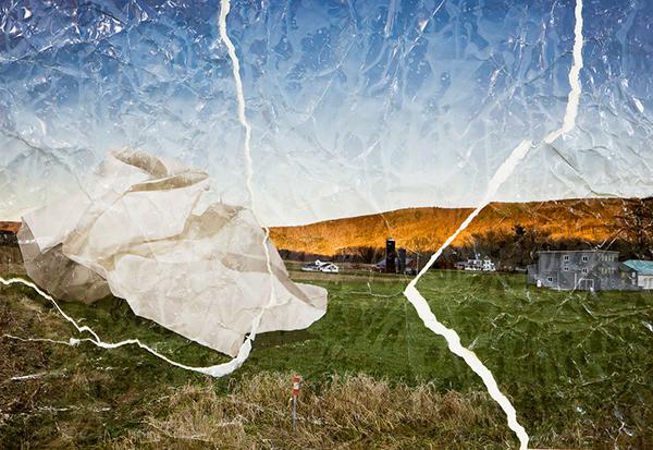 destroyed landscapes on behance