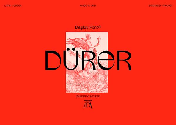 Durer Display Font