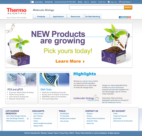 Latest Scientific News: Thermo Scientific New Product Launch 2014 Campaign On Behance