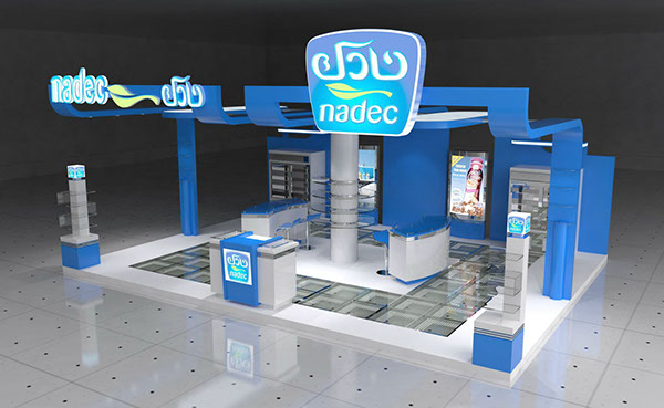 Exhibition Booth Accessories : Exhibition stand design concept on behance