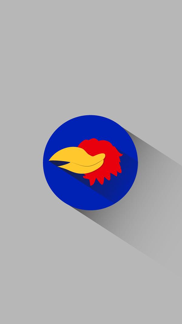 Save to Collection. Follow Following Unfollow. Minimalist Kansas Jayhawk iPhone wallpapers. 14. 560. 0