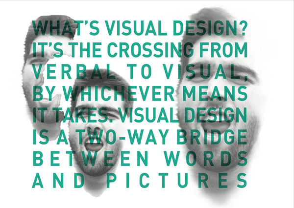 affirmation visual design