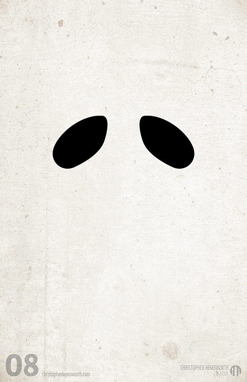 Minimalist Classroom Elementary ~ Hallowe en minimalist poster series on behance