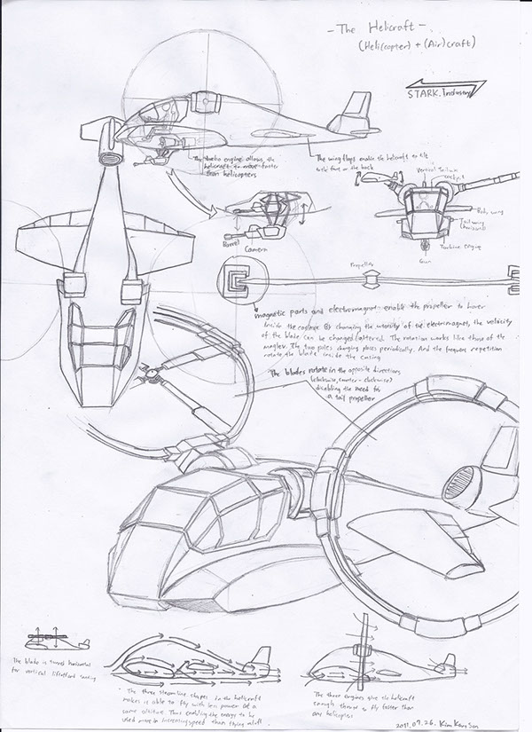 Aircraft Designs Compilations On Student Show