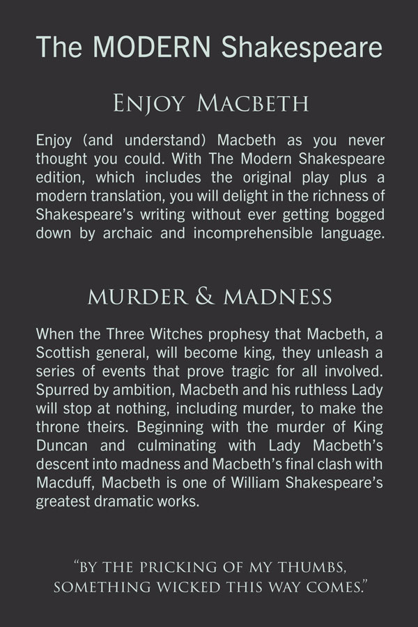 macbeth language This lesson is designed to help students understand how shakespeare's language dramatizes one such emotion: fear skip to content in shakespeare's macbeth:.