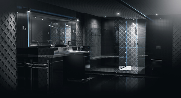 Elegant EXCLUSIVE BATHROOM Design On Behance