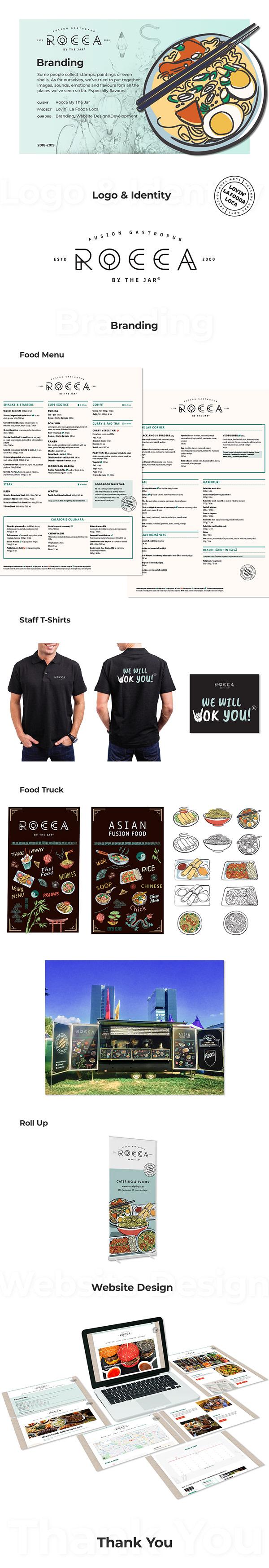 Rocca by the Jar - Restaurant Branding