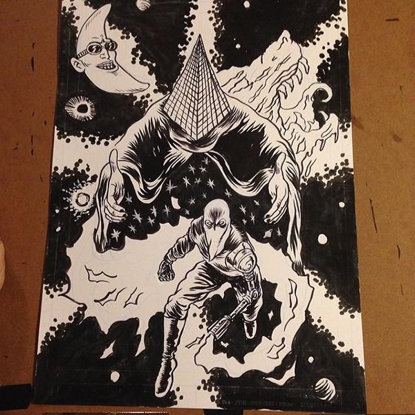 skull Space  Scifi comics