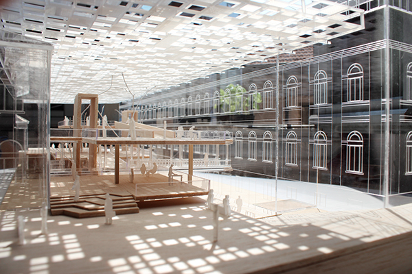 Sustainable campus on behance for Politecnico milano interior design