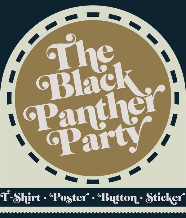 tshirt,apparel,shirt,rusc,rubens scarelli,panther,Black Panther Party,vintage,sticker,button,poster,Funk,soul,70's,city,flyer