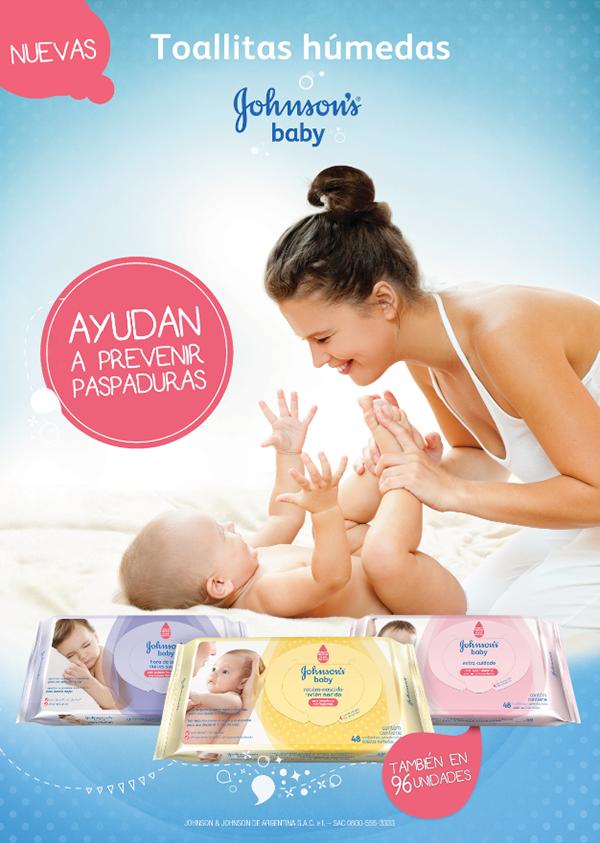 Johnson S Baby Wipes On Behance