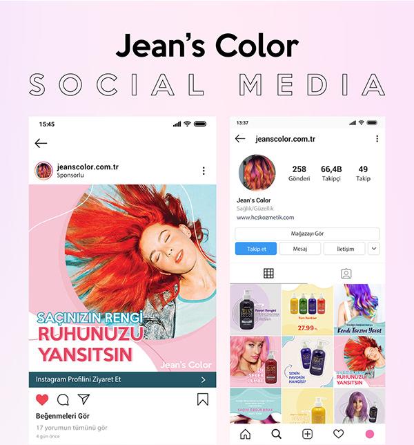 Social Media | Jean's Color