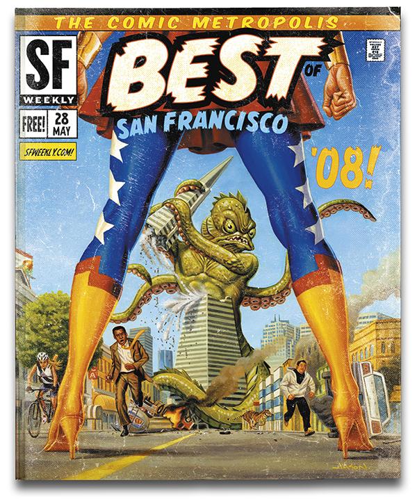 SF Weekly Covers